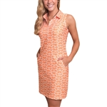 Tee2Sea Sleeveless Golf Dress - Sunrise Adventure