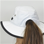 Kate Lord Ladies UPF50+ Bucket Hat w/ Pony Tail Hole