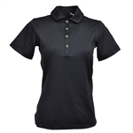 Kate Lord Chelsea Short Sleeve Polo - Black