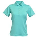 Kate Lord Chelsea Short Sleeve Polo - Surf
