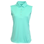 Kate Lord Eden Sleeveless Polo - Surf