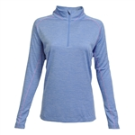 Kate Lord Fairlee 1/2 Zip Top - Olympic/Freesia