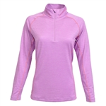 Kate Lord Fairlee 1/2 Zip Top - Freesia/Persimmon