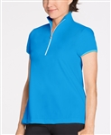 KINONA Dressed To Win Golf Top - Deep Turquoise