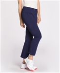 KINONA Smooth Your Waist Golf Crop Pant - Navy