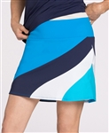 KINONA Make Waves Golf Skort - Deep Turquoise