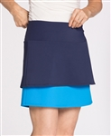 KINONA Top Tier Golf Skort - Deep Turquoise