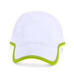 Ame & Lulu Hot Shot Hat - White/Green