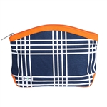 Ame & Lulu Kiss and Makeup Beauty Bag - Abby Plaid