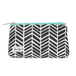 Ame & Lulu Brush If Off Cosmetic Case -  TillyBlack Shutters