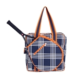Ame & Lulu Victory Icon Tennis Tote - Abbey Plaid