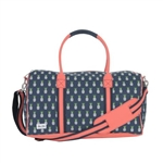 Ame & Lulu Pineapple Puddle Jumper Duffel
