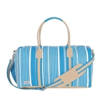 Ame & Lulu Ticking Stripe Puddle Jumper Duffel