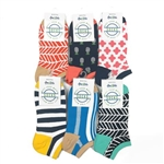 Ame & Lulu Meet Your Match Socks (6-Pack)