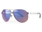 Sundog Women's Uptown TrueBlue Aviator Sunglasses