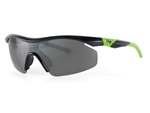 Sundog Women's Pace TrueBlue Lens Sunglasses - Smoke/Green