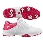 Puma Blaze Golf Shoe - White/Rose Red