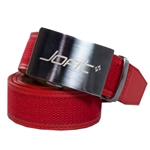 JoFit Contoured Canvas Lipstick Red Belt