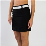 JoFit Elite Black Slimmer Golf Skort