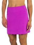 "JoFit Scalloped 18"" Golf Skort - Lotus Pink"