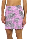 "JoFit Scalloped 18"" Golf Skort - Lotus Pixel"