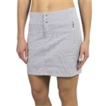 JoFit Signature Golf Skort - Blue Depth Seersucker