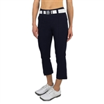 "JoFit Slimmer 24"" Flare Cropped Pant - Midnight"