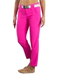 JoFit Belted Cropped Golf Pant - Fluorescent Pink