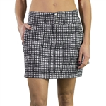 JoFit Black Wicker Signature Golf Skort