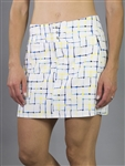 JoFit Limoncello Check Signature Golf Skort