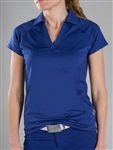 Jofit Jo Tech Polo Blue Depth