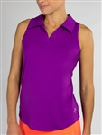 JoFit Tech Cut Away Sleeveless Polo - Dizzy