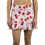 JoFit Ruffle Bottom Skort - Cherry