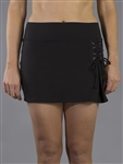 JoFit Lace Up Tennis Skort - Black