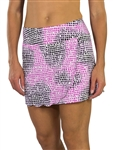 "JoFit Scalloped 15"" Tennis Skort  - Lotus Pixel"
