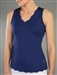 JoFit Scallop Tank - Blue Depth