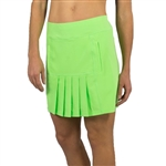 "JoFit Dash 18"" Golf Skort - Honeydew"