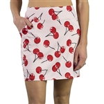 JoFit Printed Mina Golf Skort - Cherry