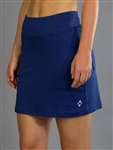 Jofit Jacquard Mina Golf Skort - Blue Depth
