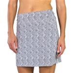 Jofit Mina Golf Skort Midnight Herringbone