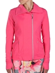 JoFit Lifestyle Jet Set Jacket Sherbet