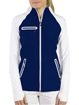 JoFit Stellar Jacket - Blue Depth/White