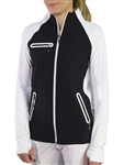JoFit Stellar Jacket - Black/White