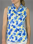 JoFit Phoenix Watercolor Sleeveless Golf Polo