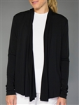JoFit Black Shawl Cardigan