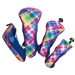 Glove It Electric Plaid Headcovers (Set of 4)