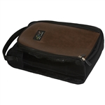 Greg Norman Golf Shoe Bag - Classic Brown