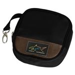 Greg Norman Golf Accessory Pouch - Classic Brown