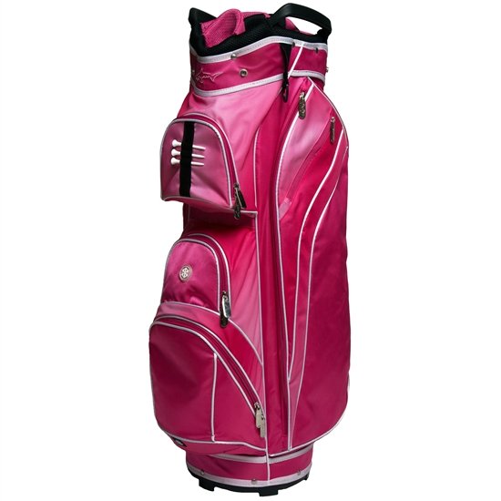 Greg Norman Ladies Pretty In Pink Golf Bag