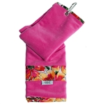 Glove It Sangria Stripe Golf Towel